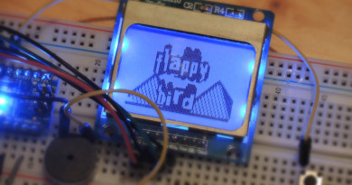 arduino flappy bird